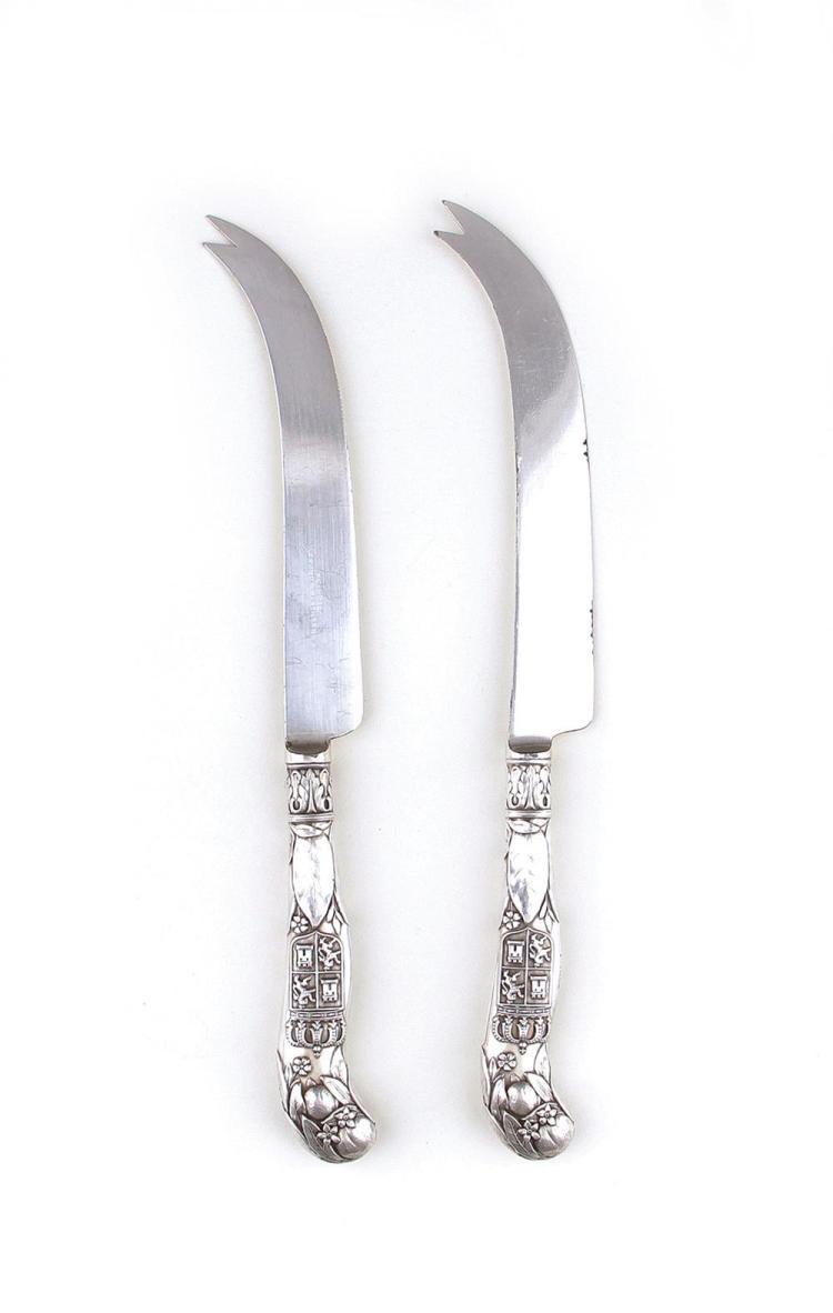 Gorham St. Augustine souvenir orange knives (6pcs)
