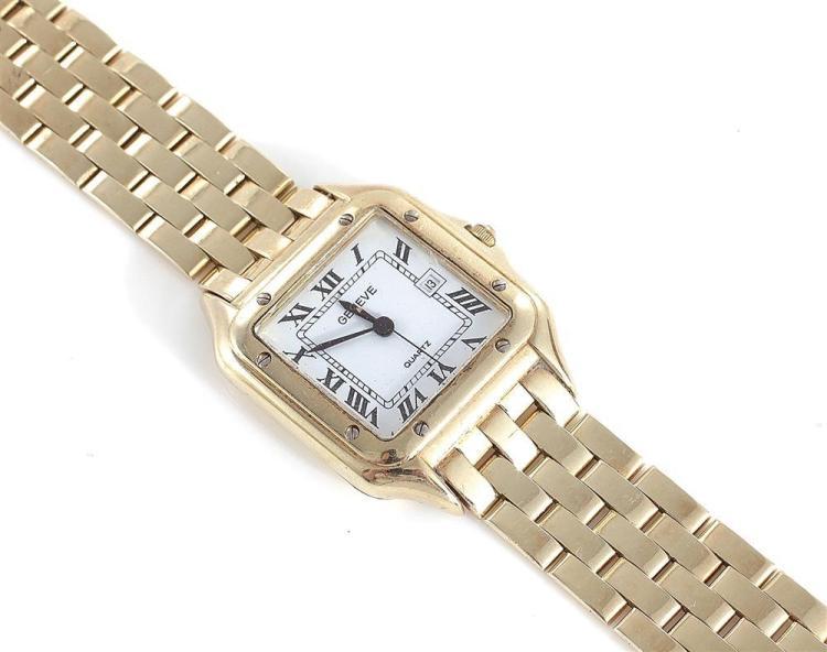 Geneve gold wristwatch