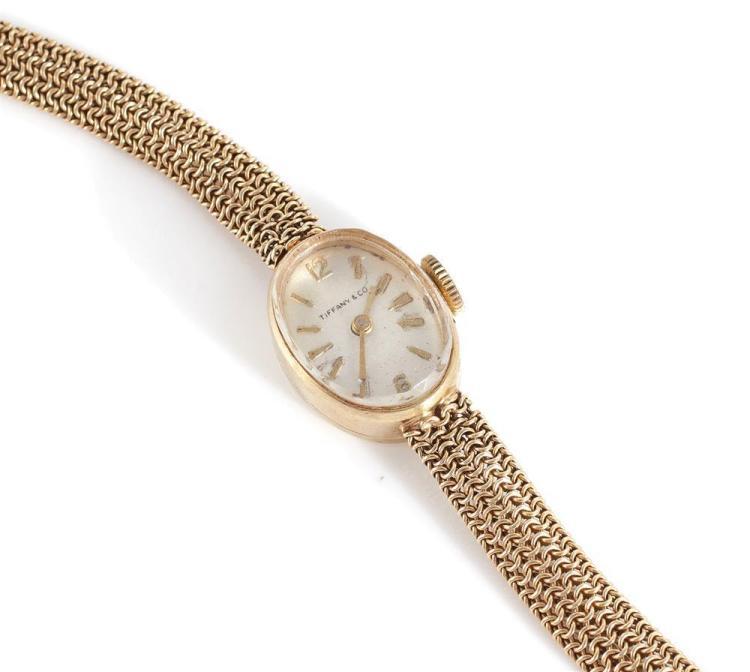 Tiffany & Co gold wristwatch