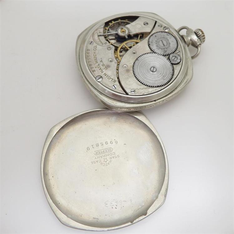 Antique open-face pocket watches (3pcs)