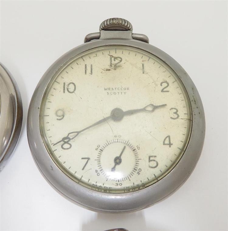 Vintage open-face pocket watches (6pcs)