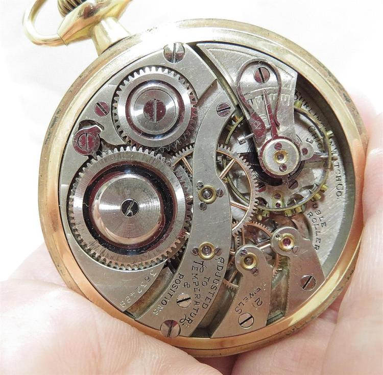 Vintage and antique open-face pocket watches (5pcs)