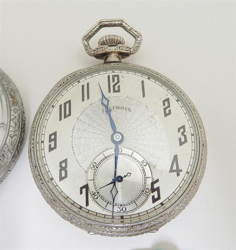 Antique and vintage open-face pocket watches (5pcs)