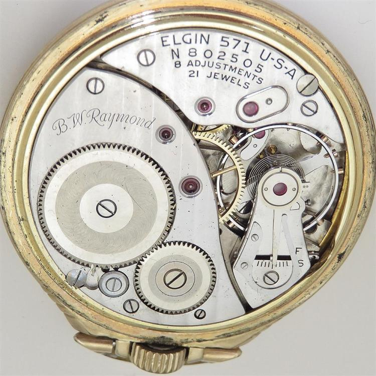 Waltham and Elgin open-face pocket watches (2pcs)
