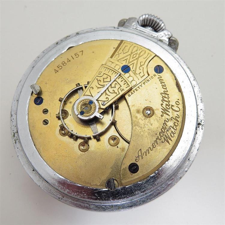 Antique Waltham open-face pocket watches (5pcs)