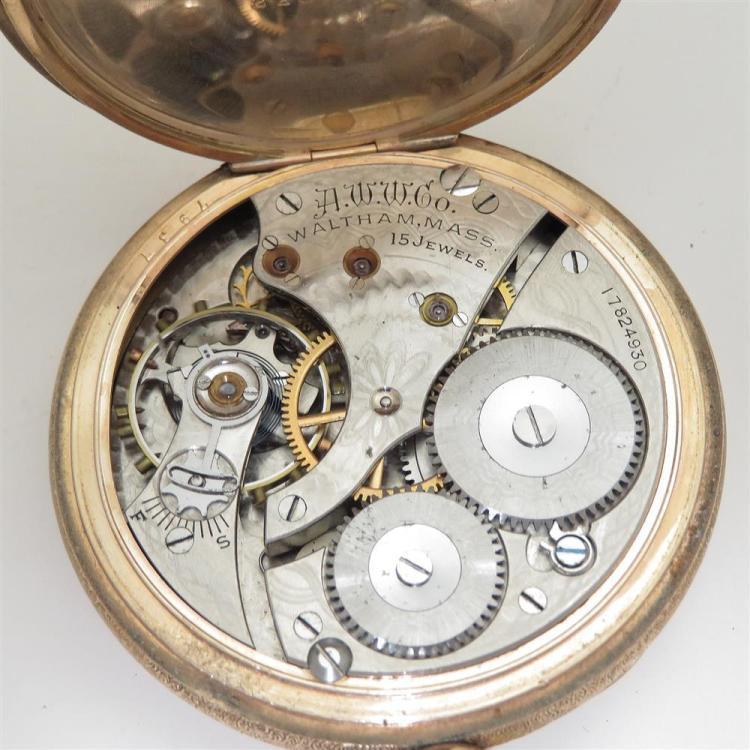 Antique Waltham open-face pocket watches (4pcs)