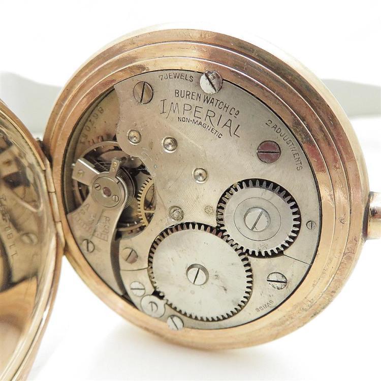 Antique and vintage hunter-case pocket watches (3pcs)