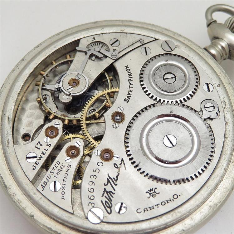 Antique open-face pocket watches (5pcs)