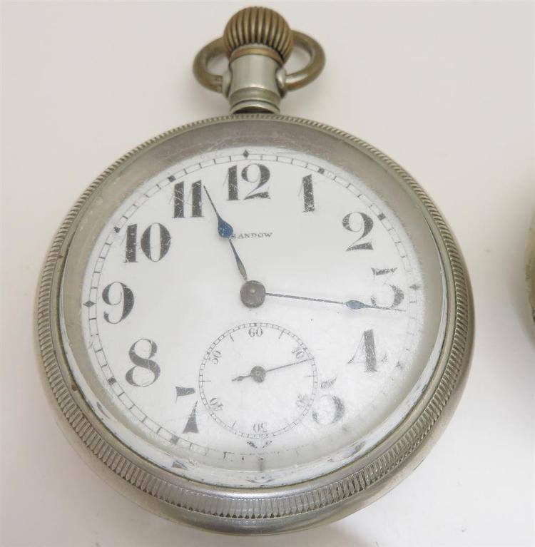 Antique open-face pocket watches (4pcs)