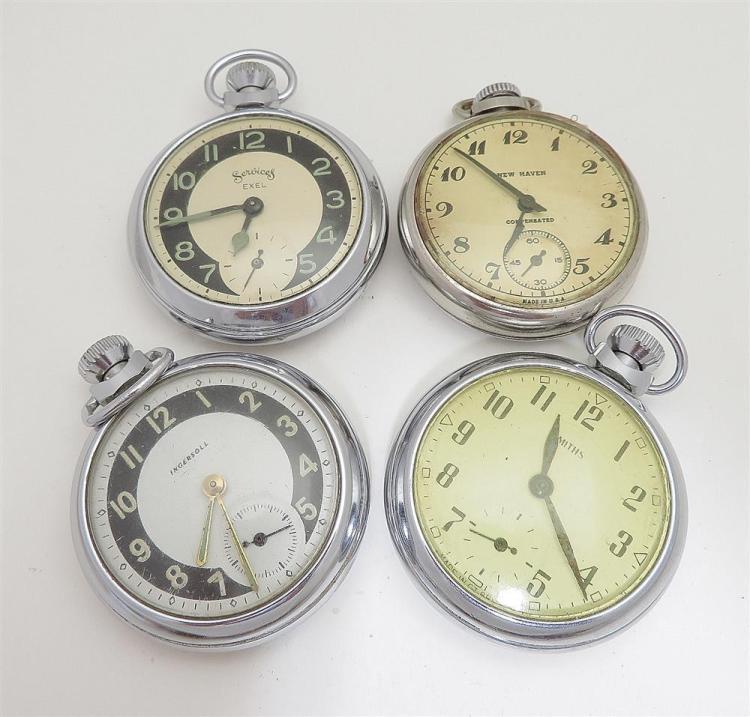 Vintage open-face pocket watches (17pcs)