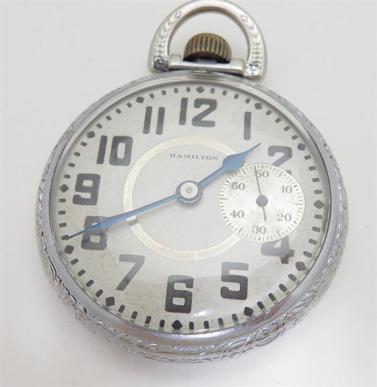 Antique open-face pocket watches (6pcs)