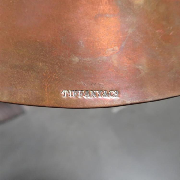 Tiffany & Co mixed-metal dish