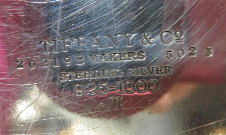 Tiffany & Co sterling tray