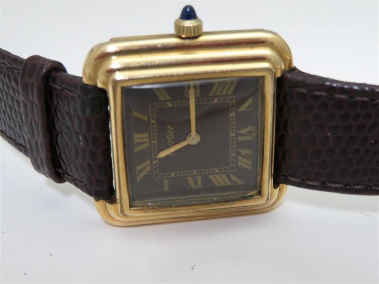 Cartier wristwatch