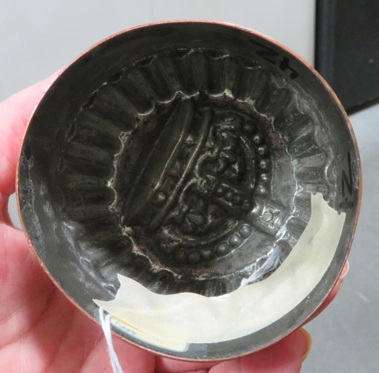 Rare Benham & Froud tin-lined crown mould