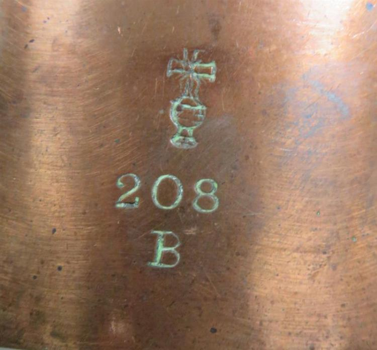 Extra large Benham & Froud tin-lined copper mould