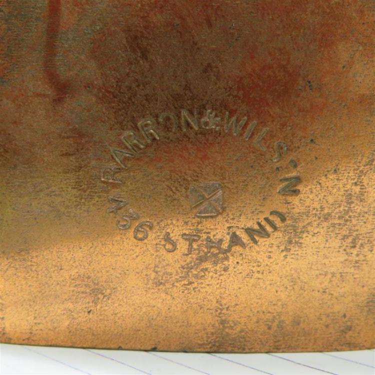 Benham & Froud copper Balmoral cake mould
