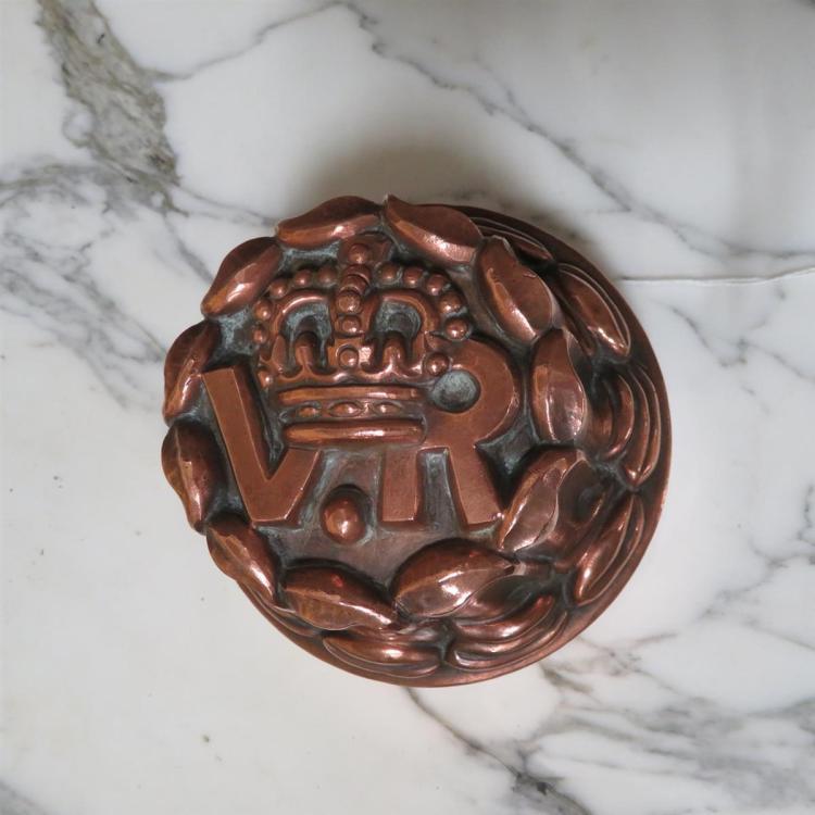Benham & Froud tin-lined copper VR mould