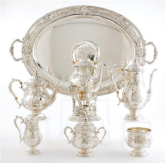 Rare Towle sterling tea and coffee service (7pcs)