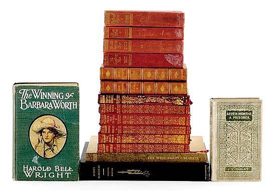 Books: Large assortment of classic titles (16pcs)