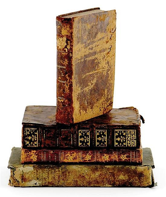 Books: 18th/19th century Rutledge Family volumes (4pcs)