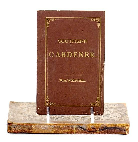 Books: Early 19th century gardening volumes descended in the Rutledge Family (2pcs)