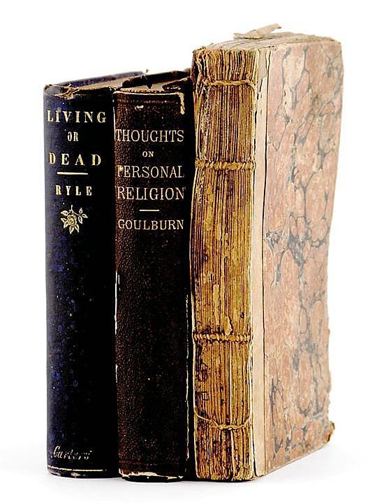 Books: Rutledge Family religious volumes (3pcs)