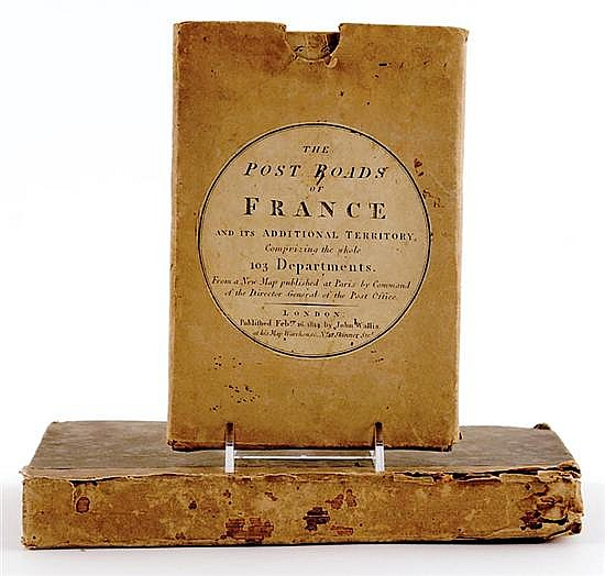 Book & Map: French history and travel map (2pcs)