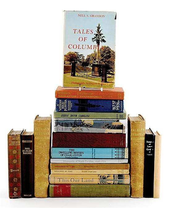 Books: Southern related (18pcs)