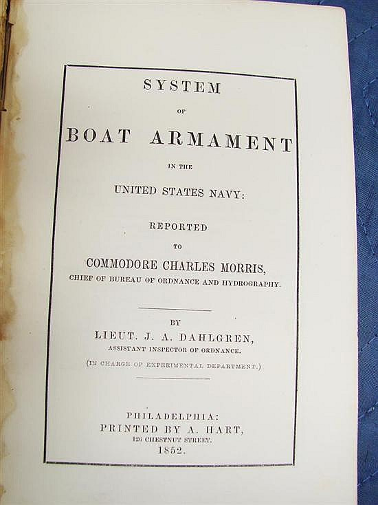 Book: early US Navy volume