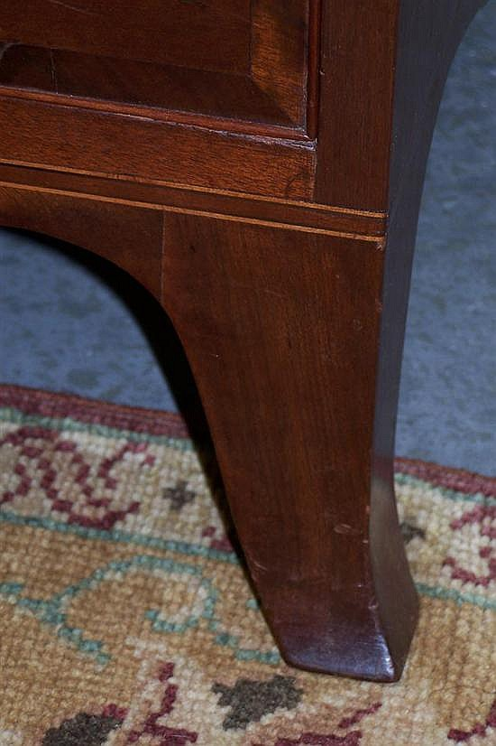 Southern walnut Federal chest of drawers