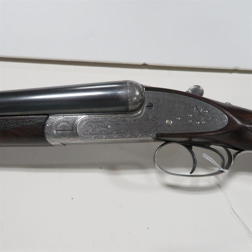 H.J. Hussey 12-bore SxS sporting gun, two-barrel set (2pcs) ***Federal Laws Apply***