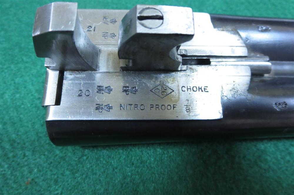 Joseph Manton & Co 20-bore SxS hammerless sporting gun ***Federal Laws Apply***