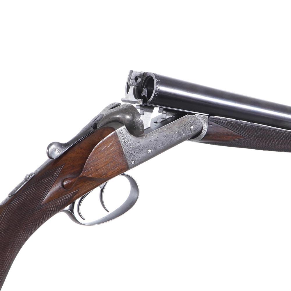 W. H. Pollard 12 bore hammerless SXS sporting gun ***Federal Laws Apply***