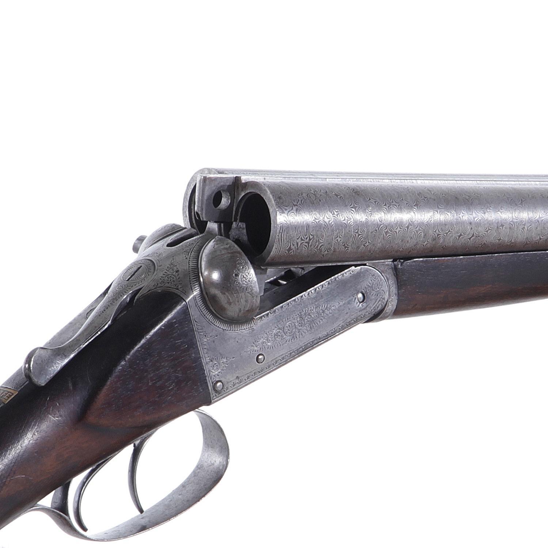 C. E. Vaughn 12ga boxlock SXS shotgun ***Federal Laws Apply***