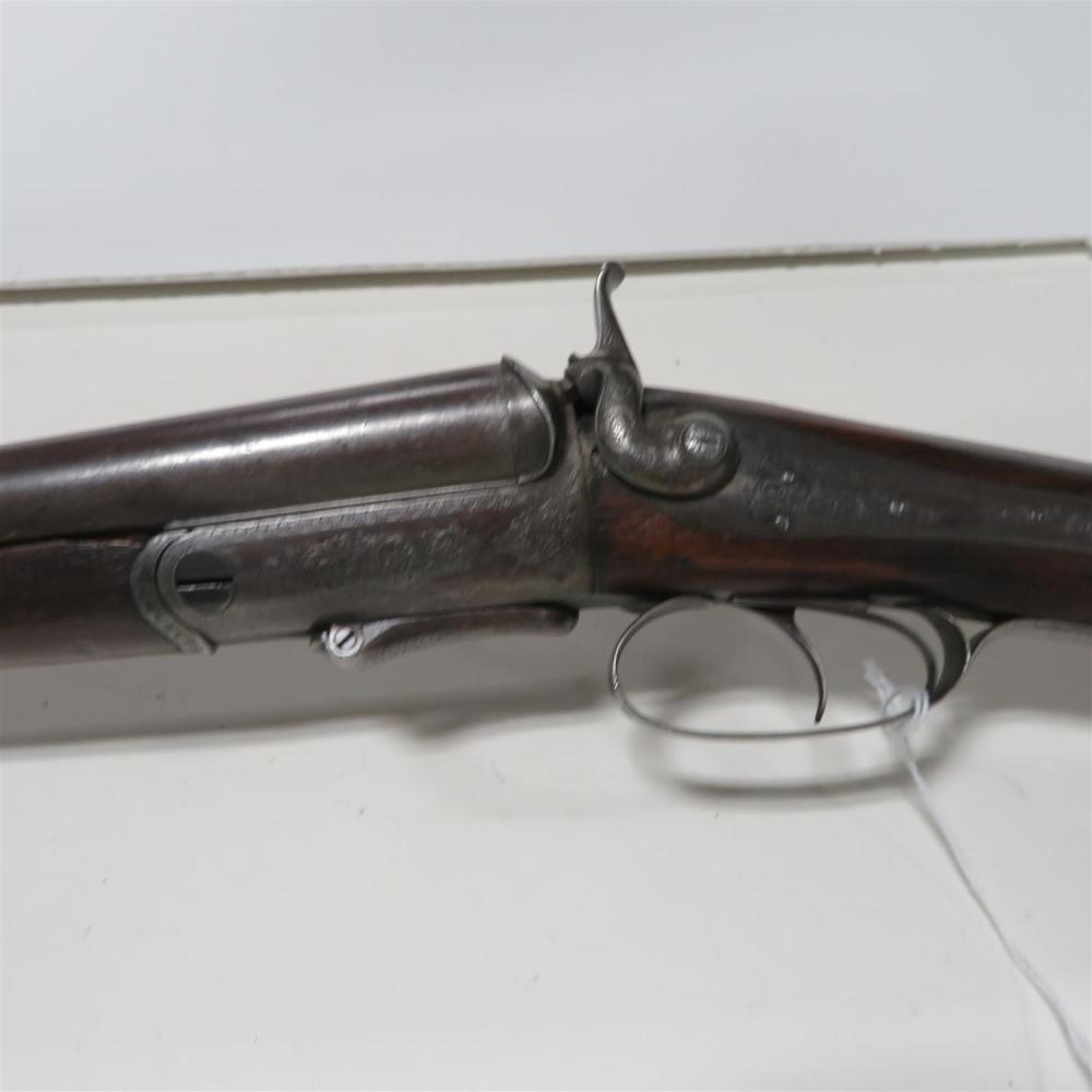 J. A. Scotcher 12ga SXS hammer sporting gun ***Federal Laws Apply***