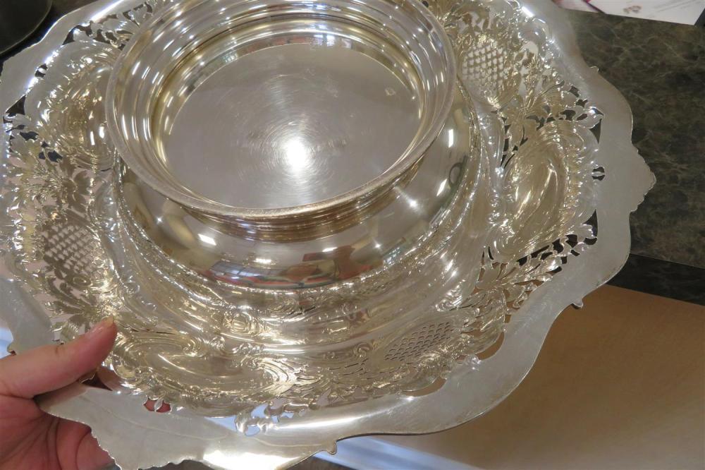 Redlich & Co silver center bowl