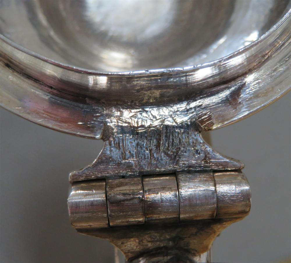 George II silver coffeepot, Ayme Videau