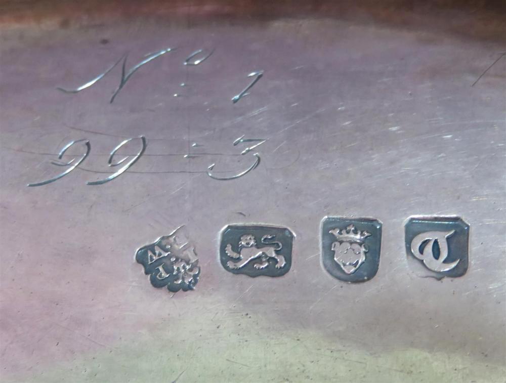 George III silver covered tureen, John Parker & Edward Wakelin