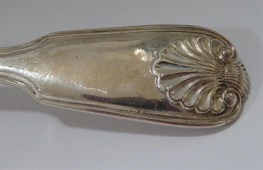 William IV silver gravy ladle set, Paul Storr (4pcs)
