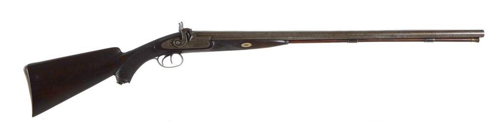 George T. Abbey, Chicago 10GA SxS muzzle-load hammer gun
