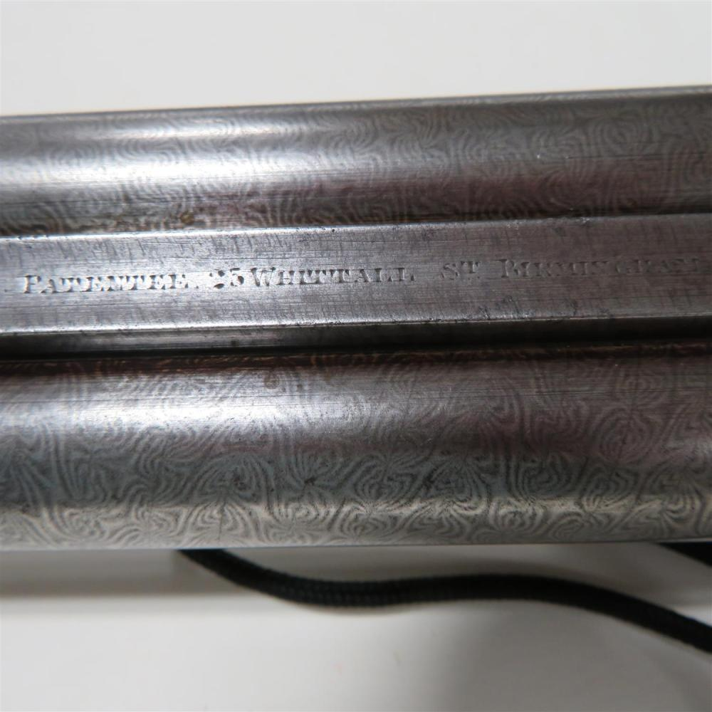 W. P. Jones 12 bore boxlock SXS sporting gun ***Federal Laws Apply***