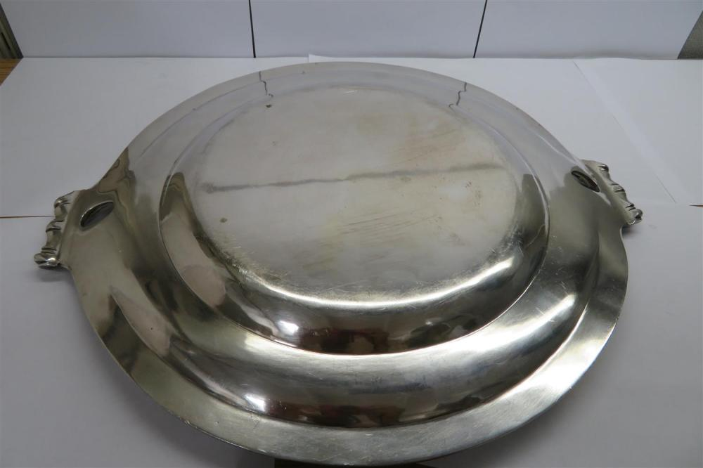 French silver tray, Tetard Freres