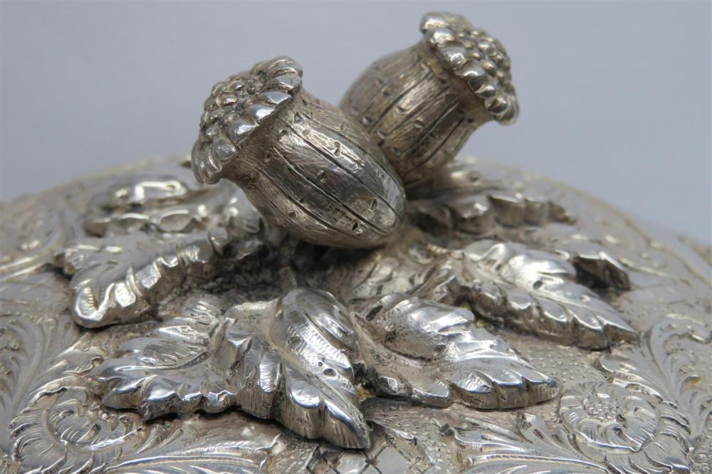 Portuguese silver tureen and cover