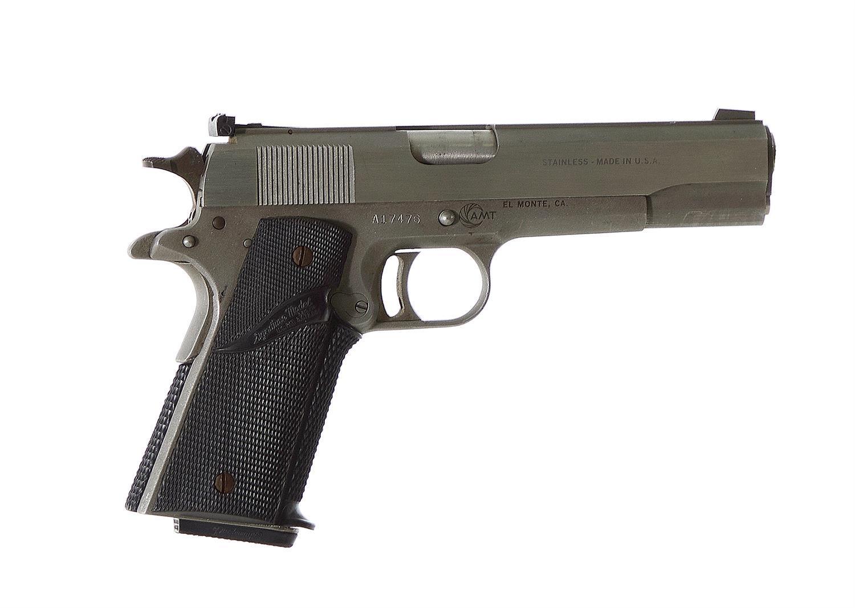 AMT Hardballer 45-cal stainless steel pistol ***Federal Laws Apply***