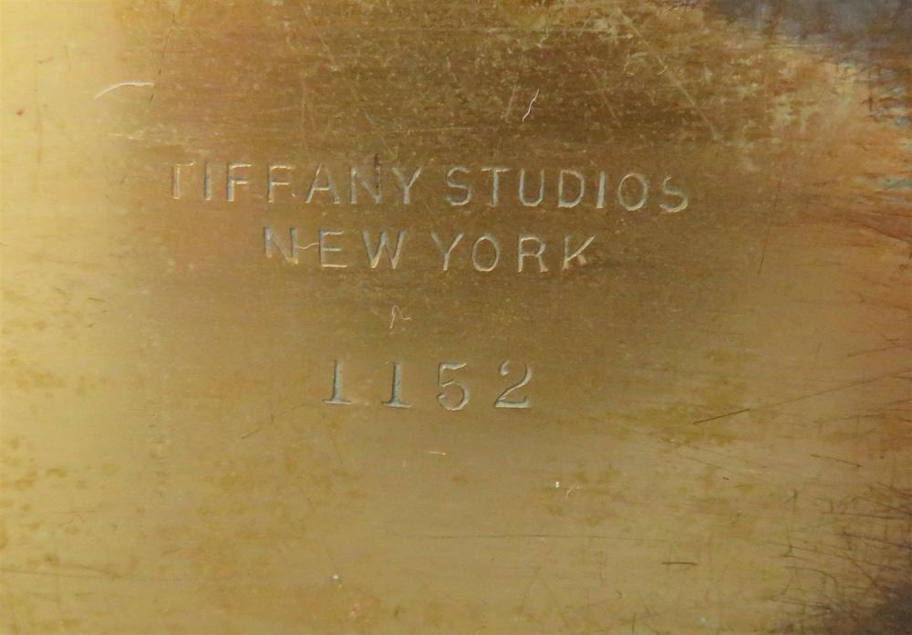 Tiffany Studios Abalone pattern desk set (8pcs)