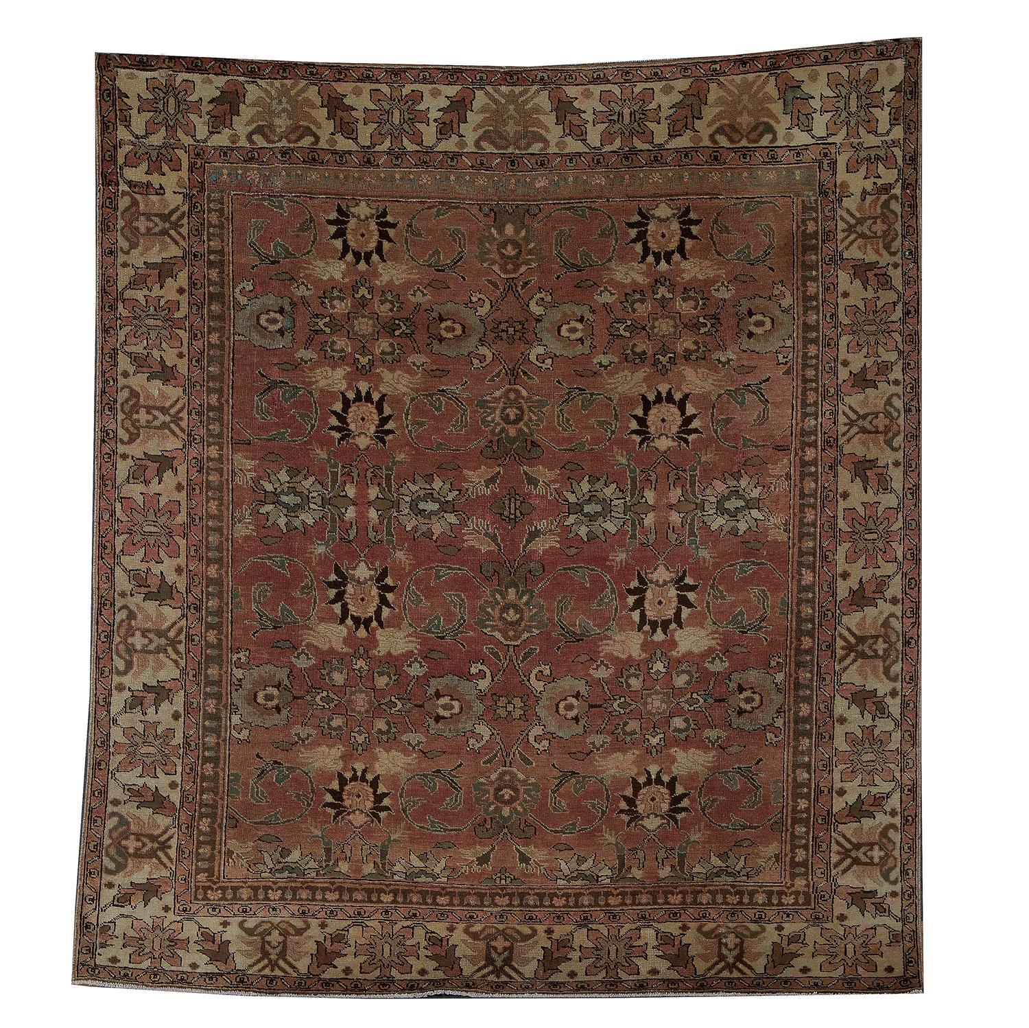 Antique Persian Khalkhal carpet
