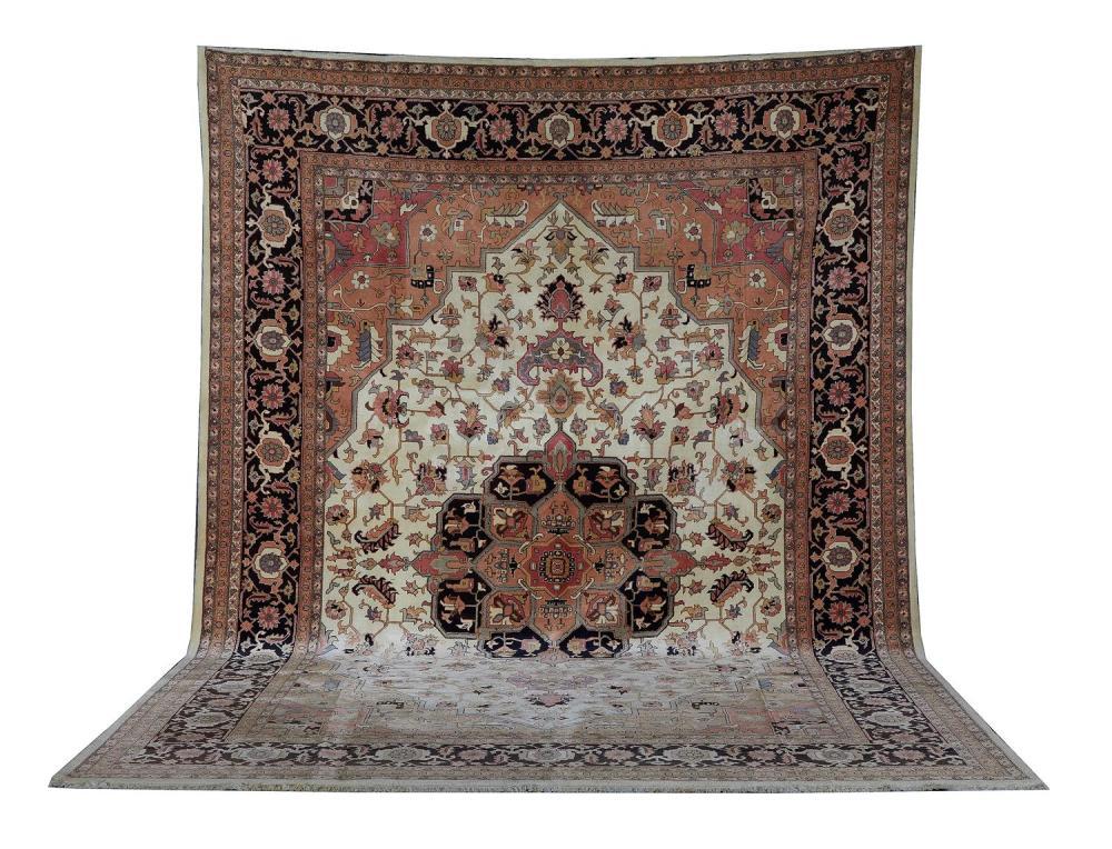 Kashmiri Heriz carpet