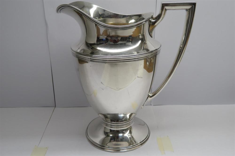 Tiffany & Co silver water pitcher