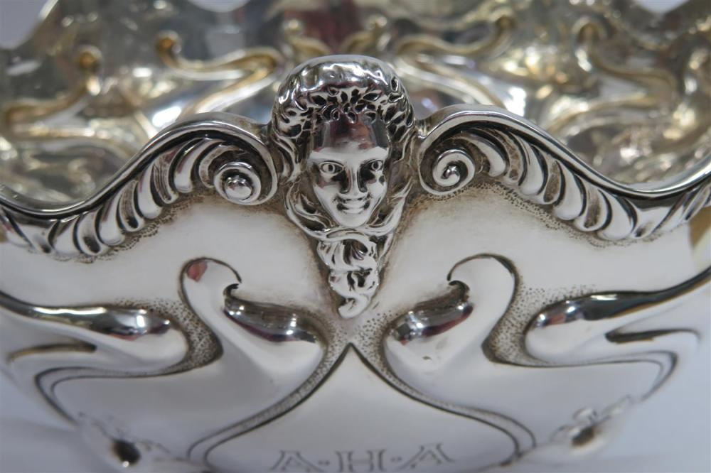 Edwardian silver centerbowl, Charles Clement Pilling